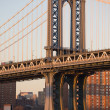 Manhattan Bridge in New York City — Stock Photo #3192741