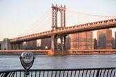 Manhattan Bridge in New York City — Stock Photo