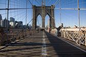 Brooklyn Bridge in New York City — Stock Photo