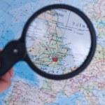 United Kingdom map — Stock Photo
