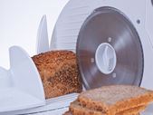 BREAD SLICER — Stock Photo