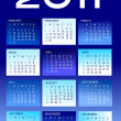 Royalty-Free Stock Photo: 2011 calendar