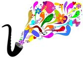 Colorful music — Foto de Stock