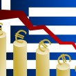 Greek crisis — Stock Photo