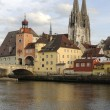 City regensburg - Stock Photo