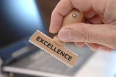 Excellence excellent — Stock Photo