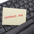 Contact me — Stock Photo #3465726