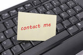 Contact me — Stock Photo