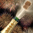 New year 2011 — Foto Stock