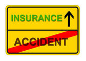 Accident insurance — Stock Photo