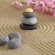 Asian zen garden — Stockfoto
