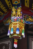 A traditional Chinese style temple decoration — Stock Photo
