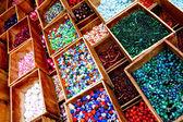 七彩的珠子 — 图库照片