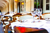 French restaurant — Foto Stock