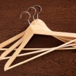 Stock Photo: Wooden hanger