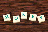 Word money — Stock Photo