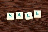 Word sale — Stock Photo