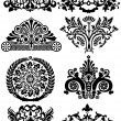 Ancient tattoos and ornaments - Stock Vector