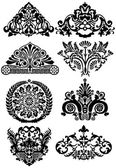 Ancient tattoos and ornaments — Stock Vector