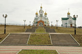 Ancient russian church — Stock Photo