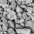 Grey rubble — Foto Stock
