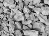 Grey rubble — Stock Photo