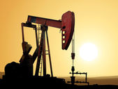 Bomba de óleo — Foto Stock