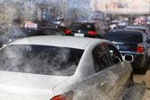 道路上的交通堵塞 — 图库照片