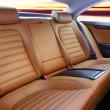 Back passenger seats — Stock Photo