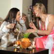 Party in drawing room — Stock Photo #3687777