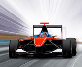 Formula one race car — Stockfoto