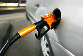 Petrol filling station — Stock Photo