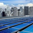 Stock Photo: Modern solar panels