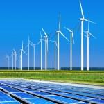 Environmentally benign solar panels — Stock Photo