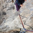 rock climbing&quot — Stock Photo