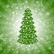 Royalty-Free Stock Vector Image: Green christmas