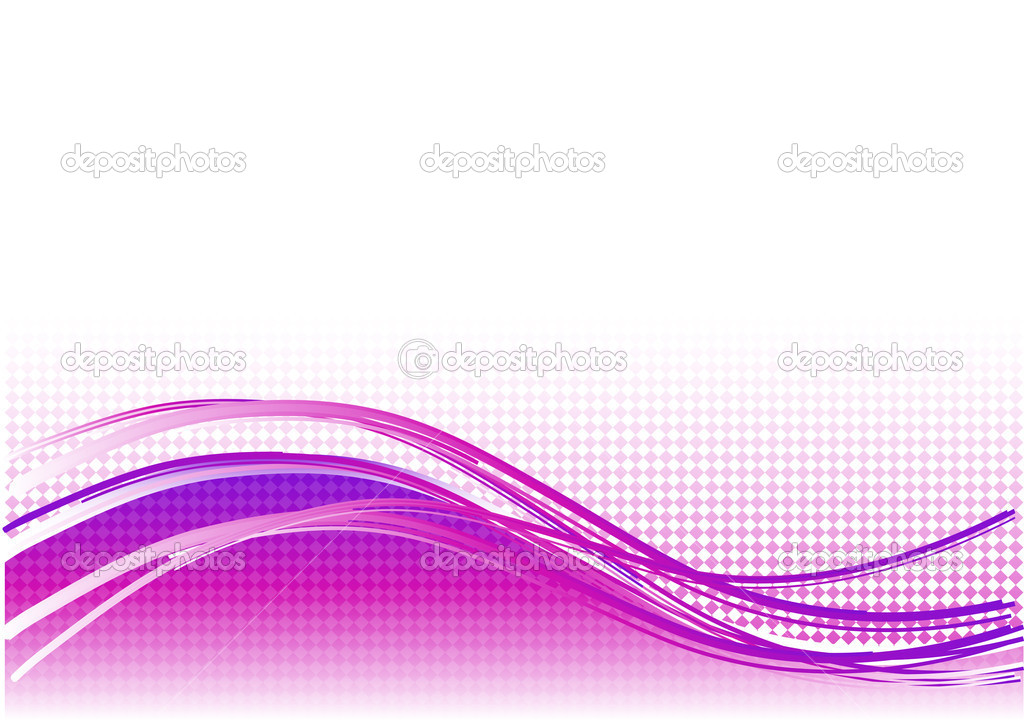 Purple wave background with lines — Stock Vector #2839722