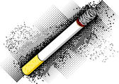 Cigarette — Stock Vector