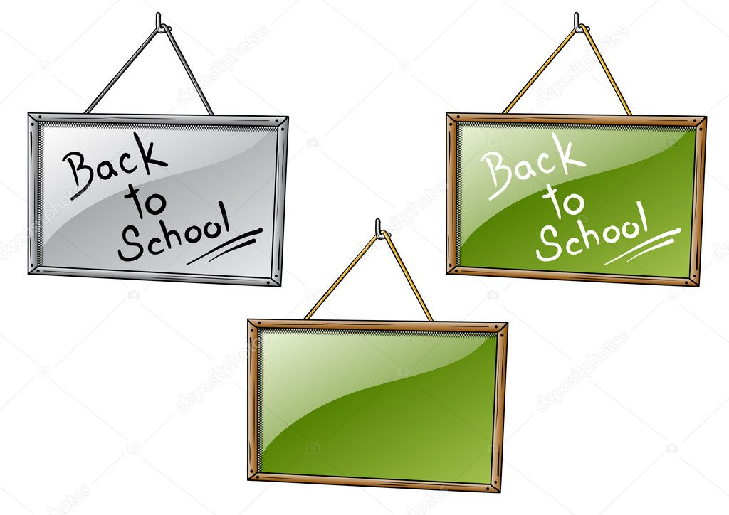 Back to school on the table — Stock Vector #3630713