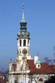 Baroque pilgrimage church Loreta — Stock Photo