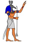 God of Ancient Egypt - Seth — Stock Vector