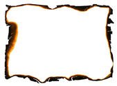 Bordas queimadas — Foto Stock