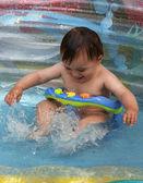 Baño bebé — Foto de Stock