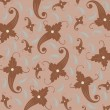 Seamless background pattern - Stockvektor