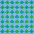 Seamless wallpaper pattern — Stockvektor
