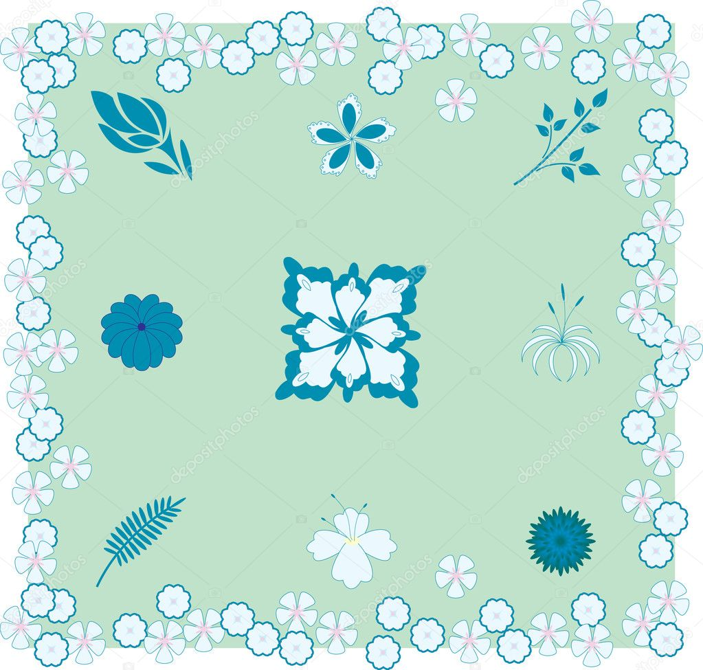 Tablecloth or card pattern  — Stock Vector #2720208
