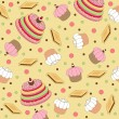 Royalty-Free Stock Immagine Vettoriale: Seamless wallpaper pattern