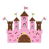 Castle vector — Stok Vektör