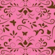 Seamless vintage background pattern - Stok Vektör