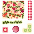 Royalty-Free Stock Vector Image: Scrapbook elements back to school